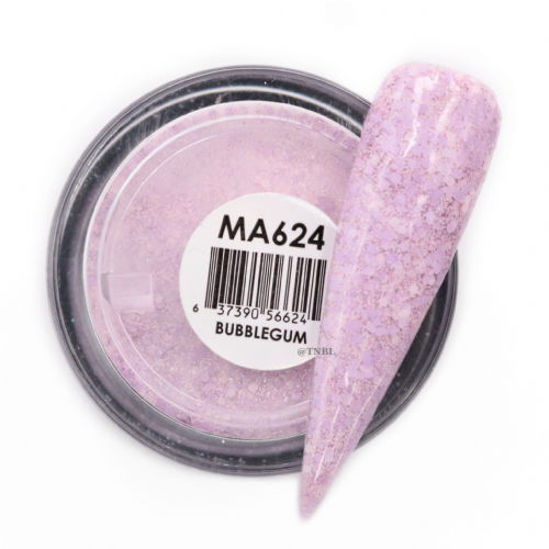 GLAM AND GLITS MATTE ACRYLIC - MAT624 BUBBLEGUM
